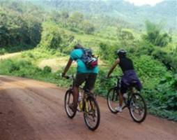 Kuang Si waterval, hiking and biking